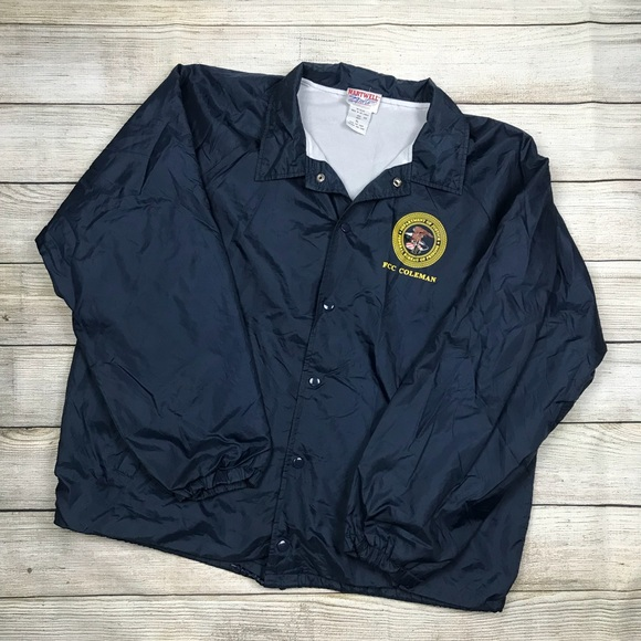 9919559ce DOJ Department of justice FBI coaches jacket L